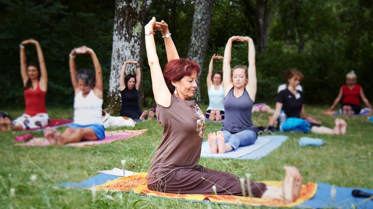 Yoga - Antibes et Sophia Antipolis avec Nathalie Moulis