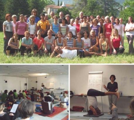 Formation de professeurs de Yoga (Session 2007-2011)